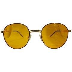 Kommafa orange sunglasses