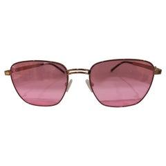Kommafa pink lens sunglasses
