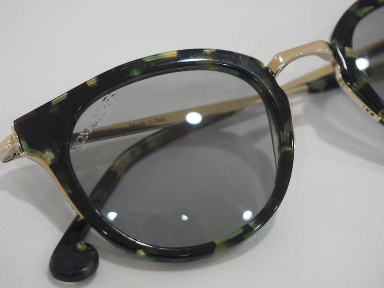 Women's or Men's Kommafa tortoise sunglasses For Sale