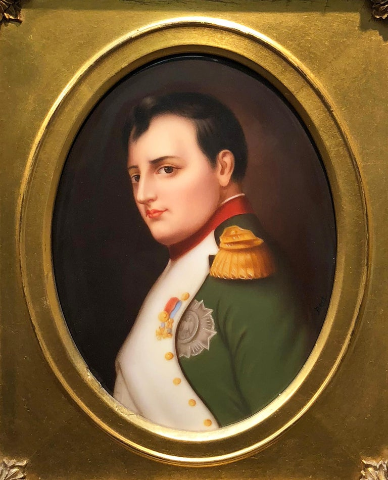 Napoleon - Painting by Königliche Porzellan-Manufaktur (KPM)