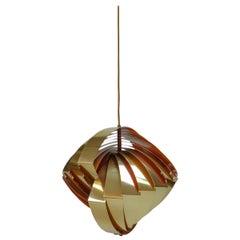 Konkylie Pendant by Louis Weisdorf for Lyfa, 1960s