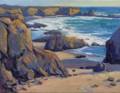 Coastal Cruising 7, San Simeon, Painting, Oil on Canvas