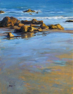 Pacific Reflections, Painting, Oil on Canvas