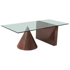 Kono Dining Table by Lella & Massimo Vignelli for Casigliani