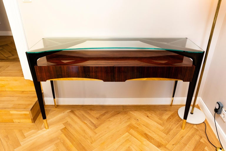 Mid-Century Modern Console, Italy, circa 1950 For Sale