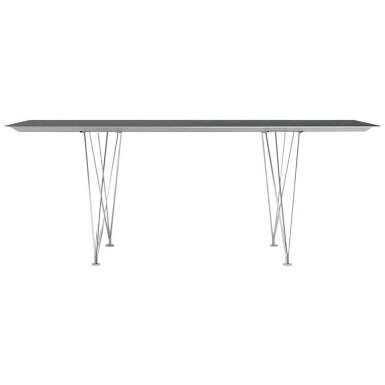 "Konstantin Grcic Steel ""Table B"" by BD Barcelona For Sale"