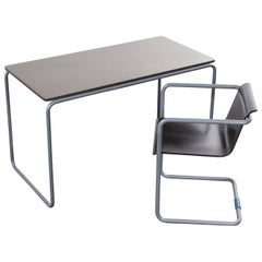 Konstantin Grcic Tubular Desk and Chair Set by Thonet for Muji 'After Breuer'