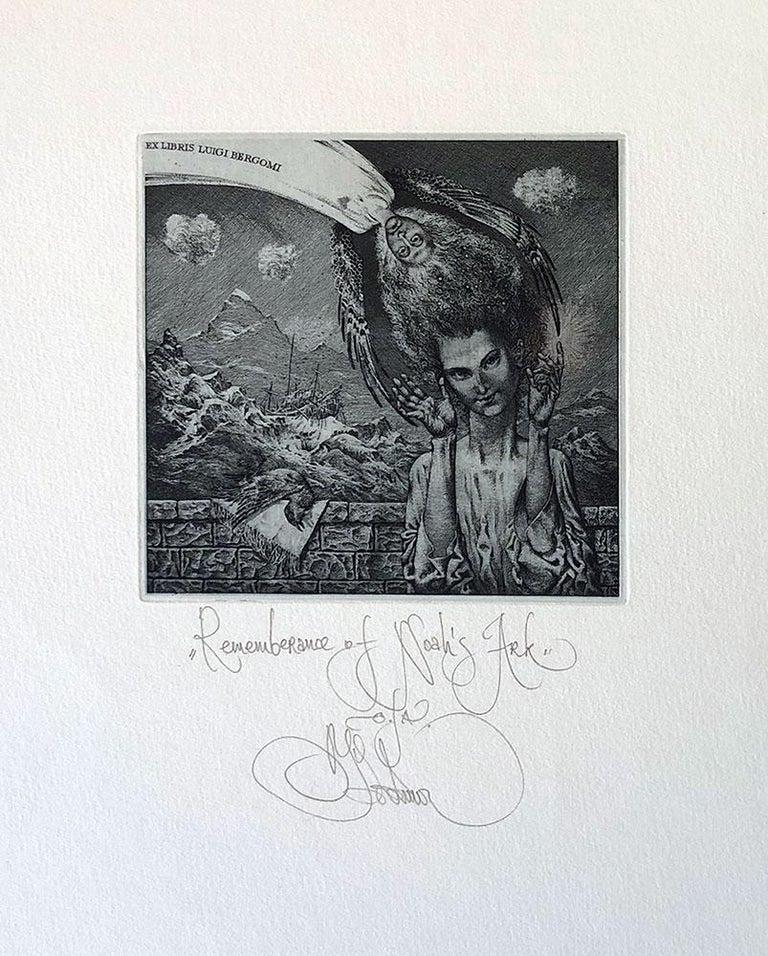 Konstantin Kalinovich Portrait Print - Remembrance of Noah's Ark