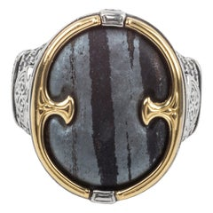 Konstantino Gents Ring with Ferrite