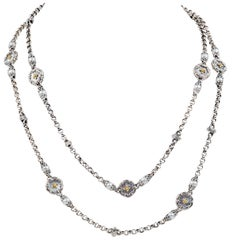 Konstantino Necklace with Mother of Pearl and Pearls