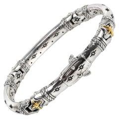 Konstantino Silver and Gold Astria Bracelet