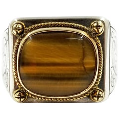 Tiger's Eye Rings