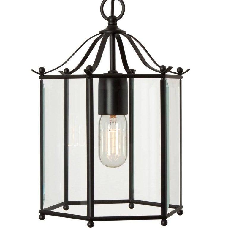 Scandinavian Modern Konsthantverk Glimminge Black Brass Ceiling Lamp For Sale