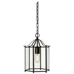 Konsthantverk Glimminge Black Brass Ceiling Lamp