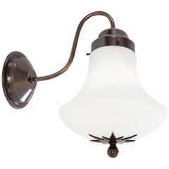 Konsthantverk Stoby Oxide Brass Wall Lamp