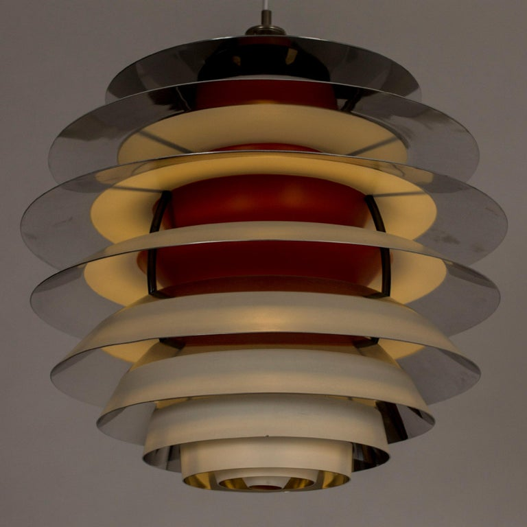 "Danish ""Kontrast"" Pendant Lamp by Poul Henningsen for Louis Poulsen For Sale"