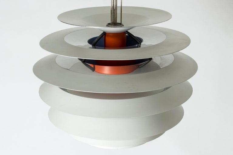 "Painted ""Kontrast"" Pendant Lamp by Poul Henningsen for Louis Poulsen For Sale"