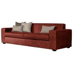 Kooi Brick Red Sofa
