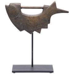 Korean Brass Fish Lock, circa 1900