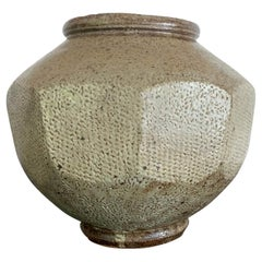 Korean Ceramic Jar Buncheong Ware Joseon Dynasty