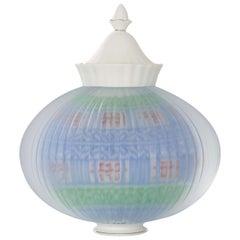 Korean Glass 25, a Unique Artglass Sculpture by Choi Keeryong