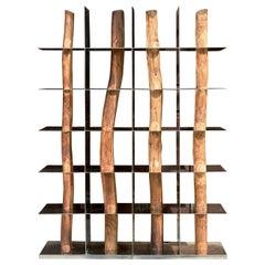 "Korean ""Hanok"" Split Shelf, Shinkyu Shon"