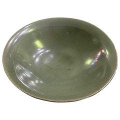 Korean Joseon Dynasty Glazed Pottery Ceramic Hakame Chawan Tea Bowl Dish