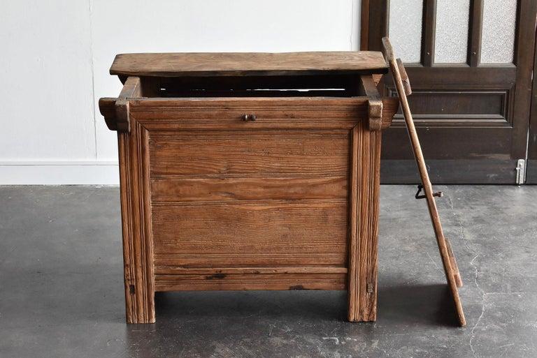 Korean Old Wooden Stand / Wooden Box / Joseon Era 19th Century / Folk Art 11