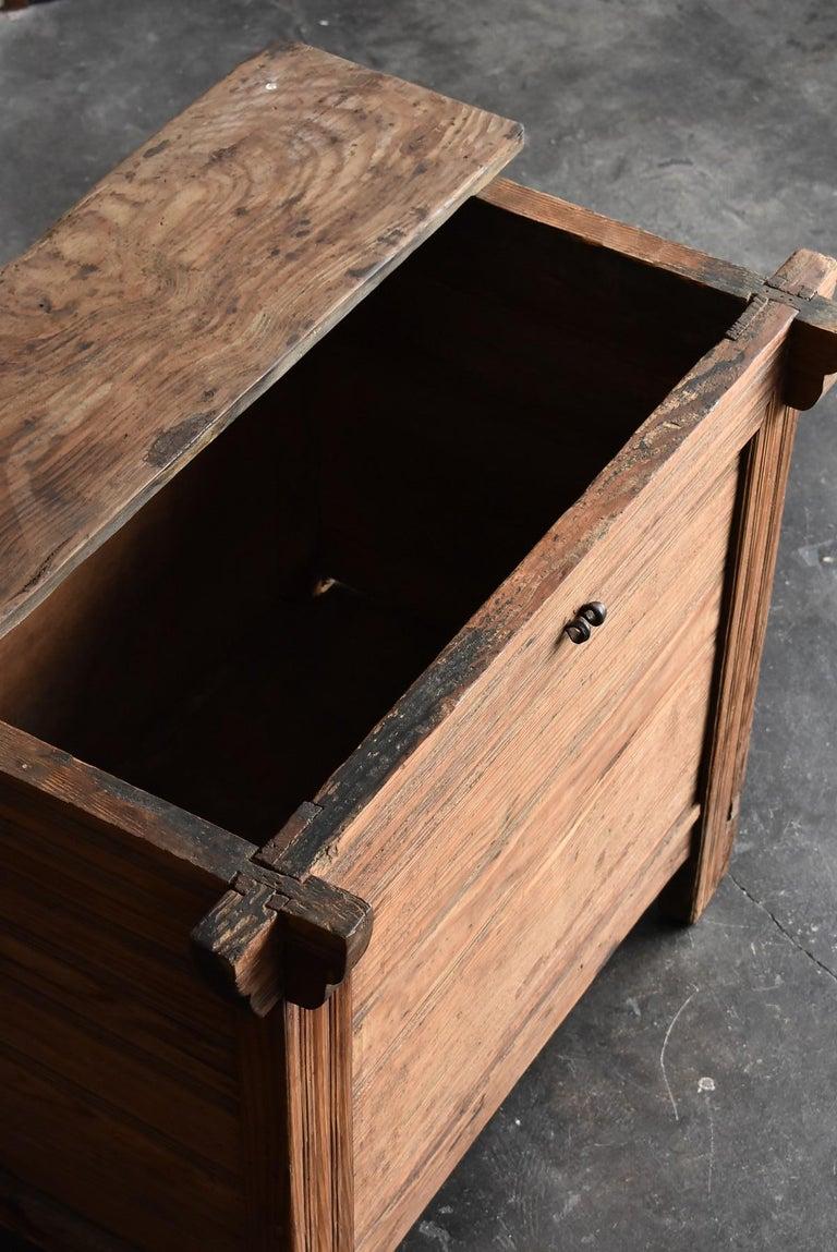 Korean Old Wooden Stand / Wooden Box / Joseon Era 19th Century / Folk Art 12