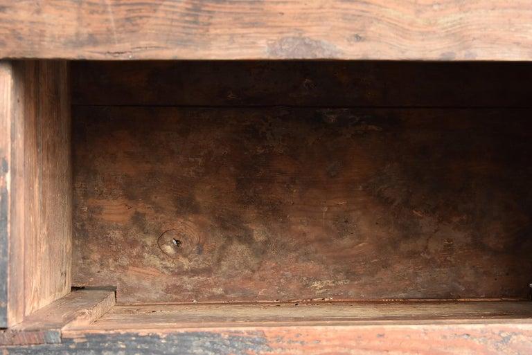 Korean Old Wooden Stand / Wooden Box / Joseon Era 19th Century / Folk Art 14