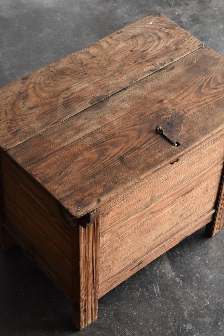 Korean Old Wooden Stand / Wooden Box / Joseon Era 19th Century / Folk Art 2