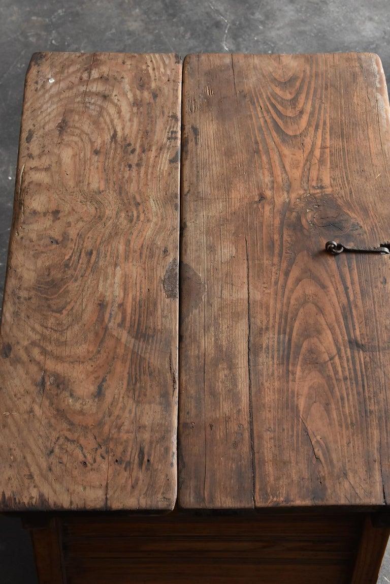 Korean Old Wooden Stand / Wooden Box / Joseon Era 19th Century / Folk Art 3