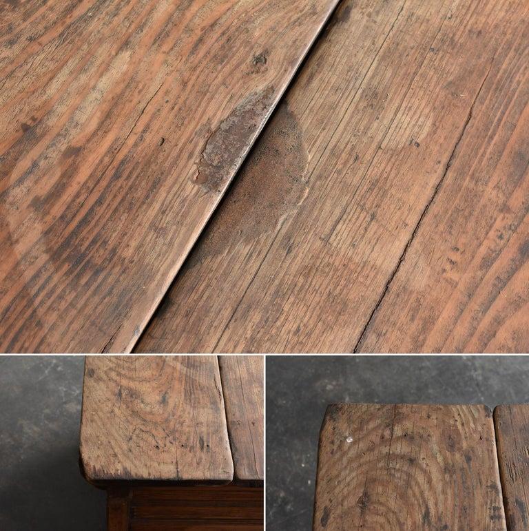 Korean Old Wooden Stand / Wooden Box / Joseon Era 19th Century / Folk Art 4