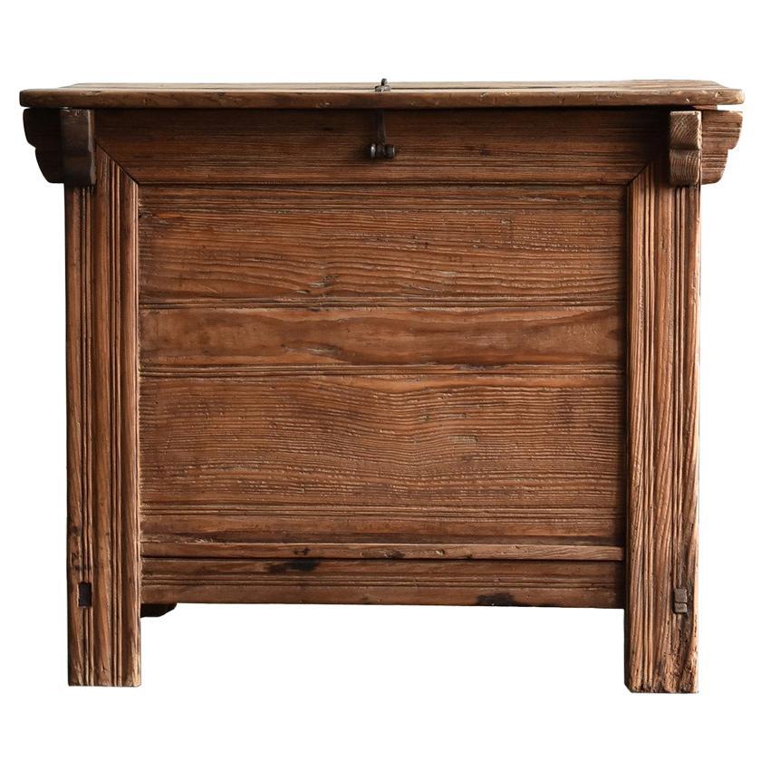 Korean Old Wooden Stand / Wooden Box / Joseon Era 19th Century / Folk Art