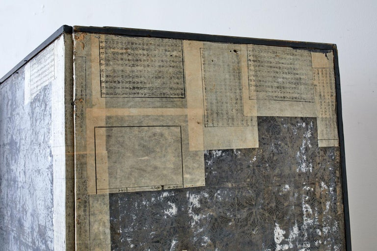 Korean Six-Panel Screen of Legendary Chinese Figures For Sale 13