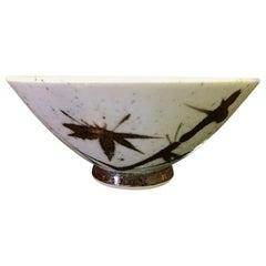 Korean Speckle Glazed Decorative Bowl