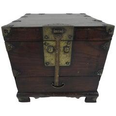 Koreanische Holz Hochzeitsbox