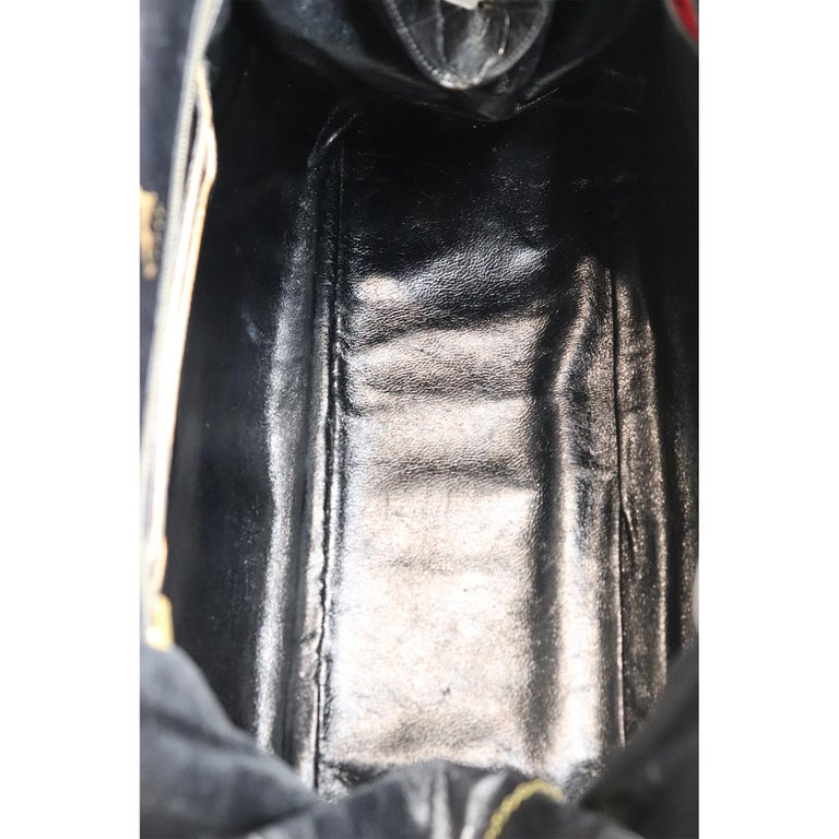 Koret Black Alligator Large Top Handle Bag  For Sale 6