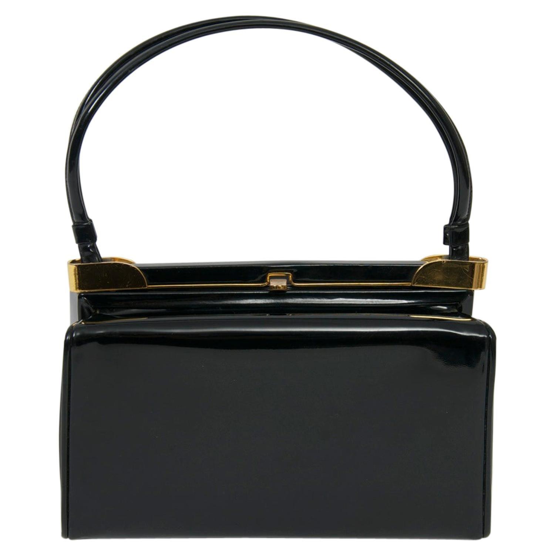 Koret Black Patent Handbag