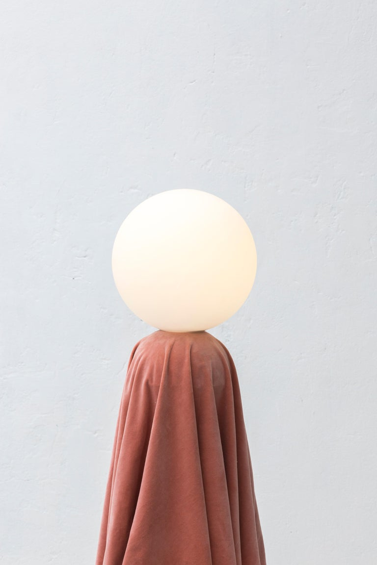 Kosice lamp is a floor lamp inspired by 3D software experimentation.  Creator: Andrés Reisinger x Reisinger Studio  Production time: It will take 6-10 weeks to make this piece.