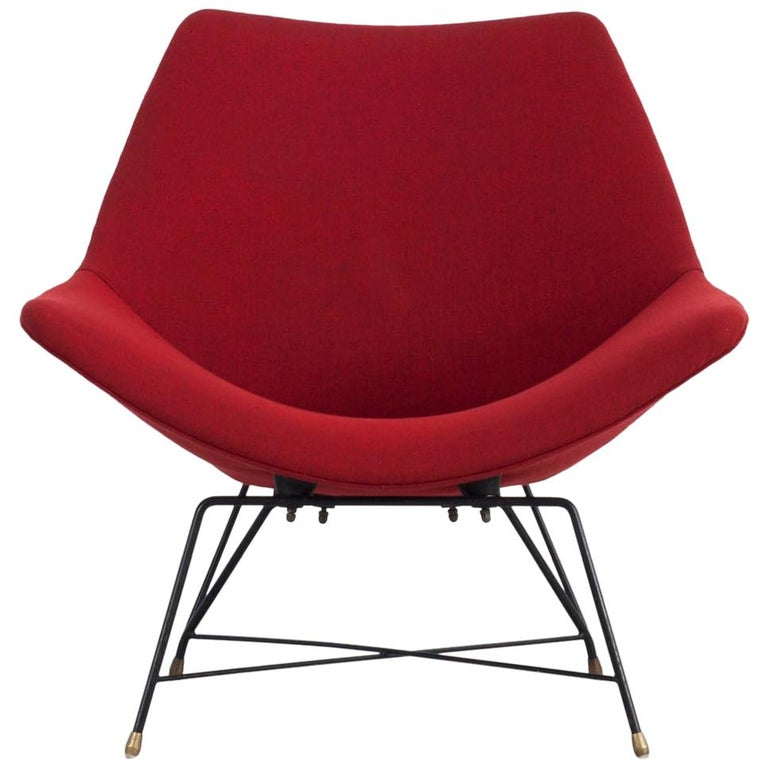 """""""Kosmos"""" Chair - Design by Augusto Bozzi for Saporiti, Italy, 1954 For Sale"""