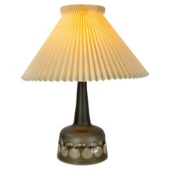 Kosta Boda Glass Table Lamp by Ove Sandeberg, Sweden, 1960s