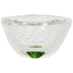 Kosta Glass Bowl by Vicke Lindstrand, 1950s