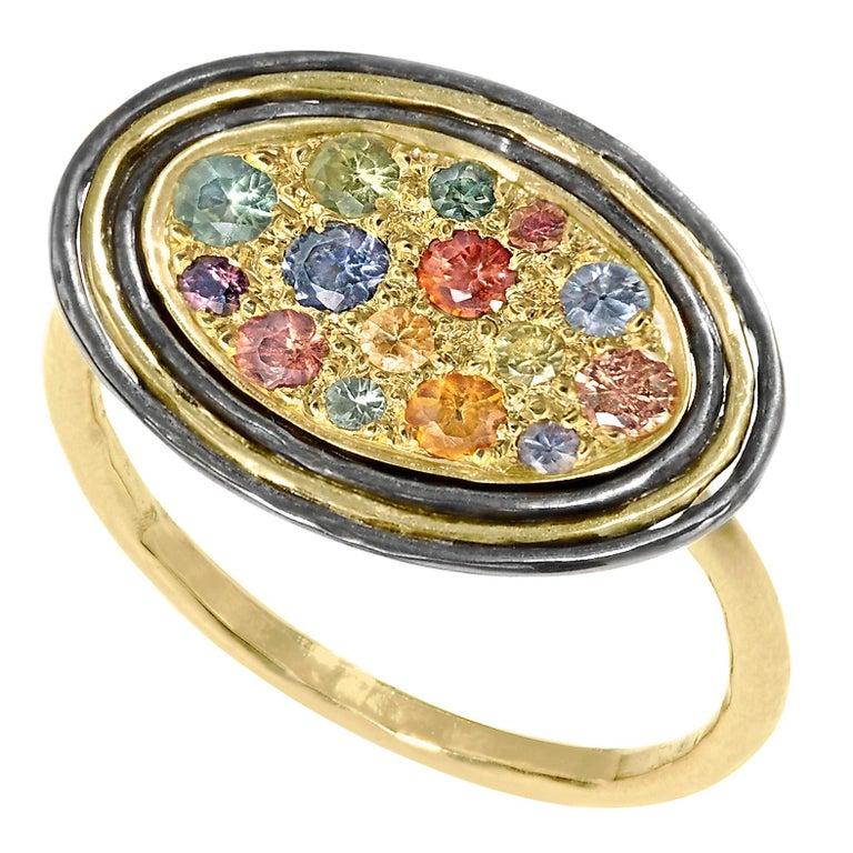 71724ba1b Rose Gold Grandeur Sterling Silver Ring - Image Of Bear and Rose ...