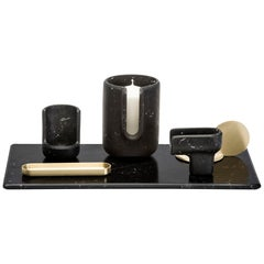 Kouki Set Black by Nendo for Editions Milano