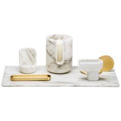 Kouki Set White by Nendo for Editions Milano