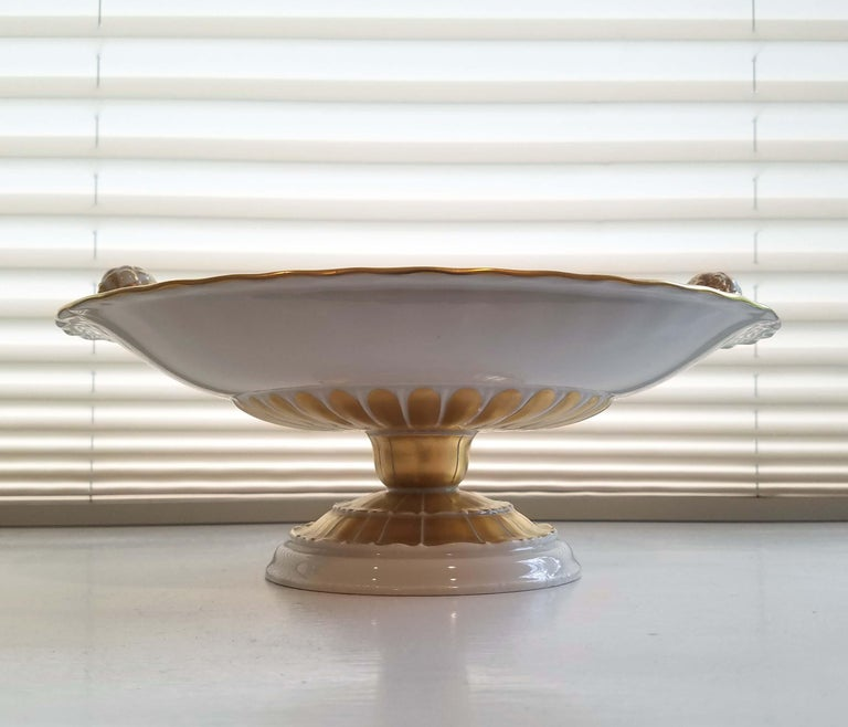 KPM Berlin Porcelain Tazza or Compote For Sale 3