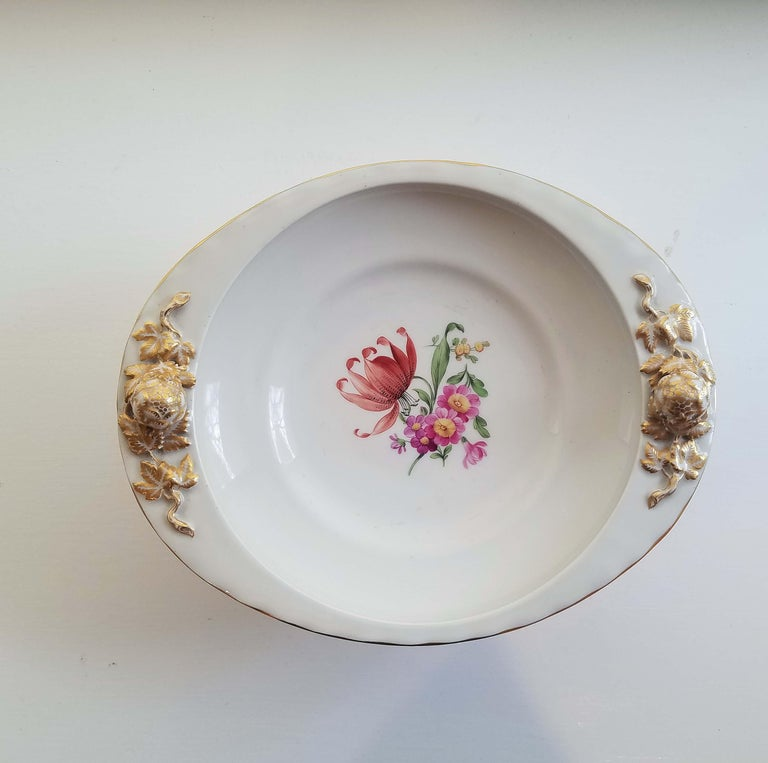 KPM Berlin Porcelain Tazza or Compote For Sale 4