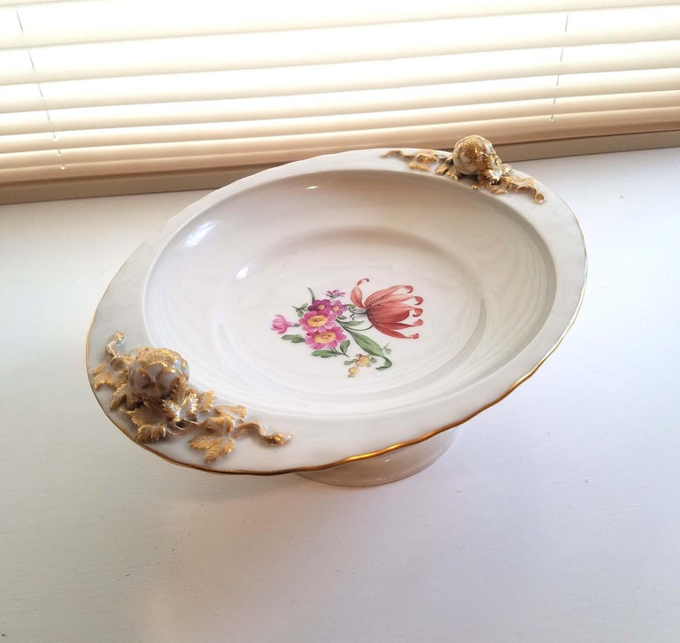 KPM Berlin Porcelain Tazza or Compote For Sale 6