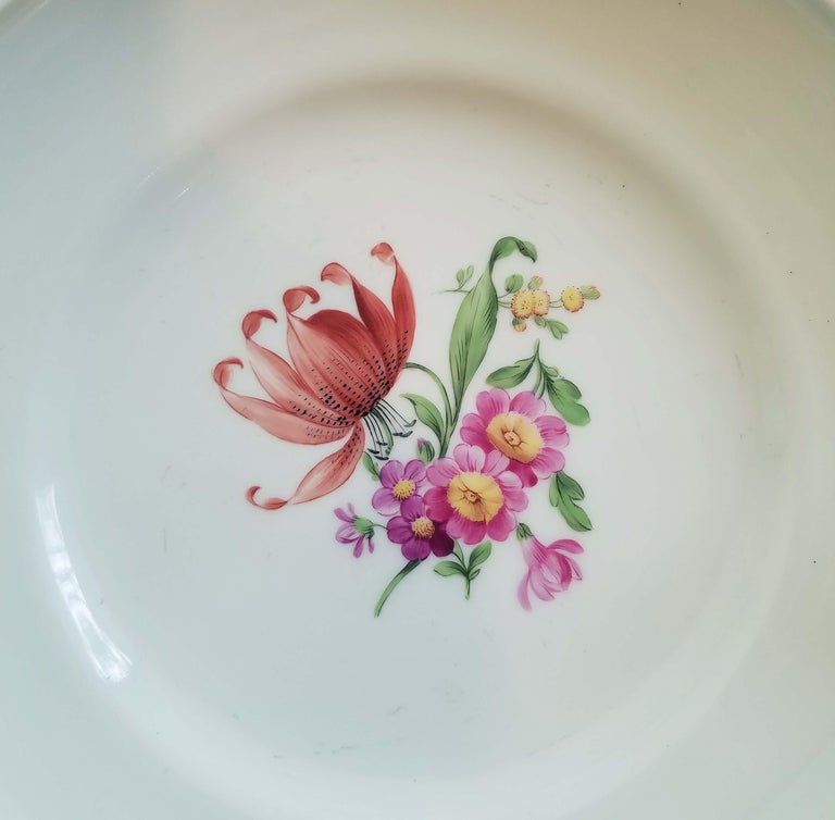 German KPM Berlin Porcelain Tazza or Compote For Sale